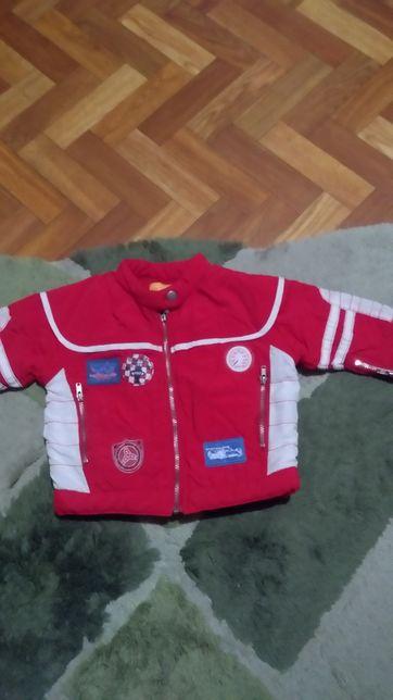 Курточка весенняя и 2 боди для малыша