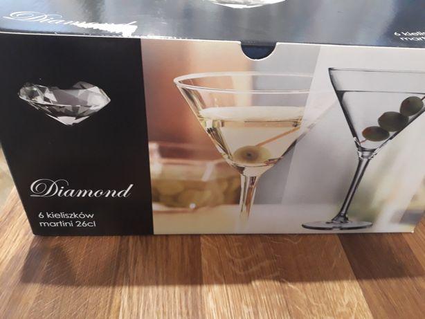 Kieliszki do martini 6szt. Diamond