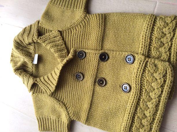 Sweter kamizelka