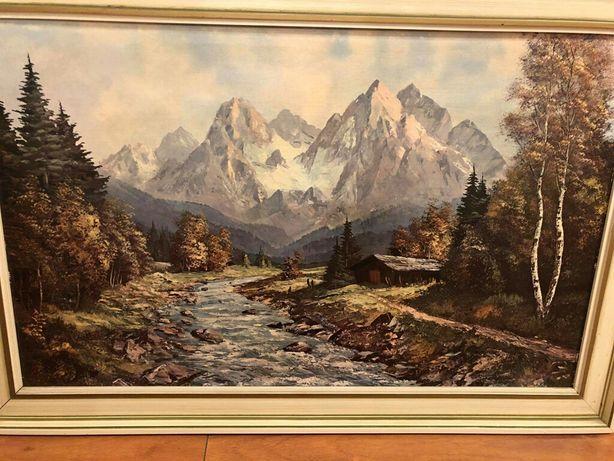 Obraz przyrody Góry i Potok