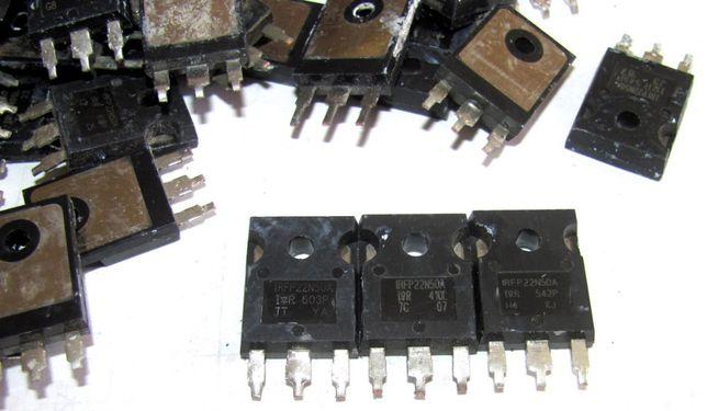 irfp22n50a 22A 500V, 100% оригинал, проверены.