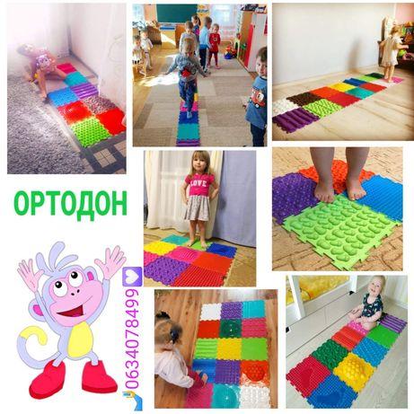 ТМ Ортодон - ортопедические массажные коврики пазлы для всей семьи !