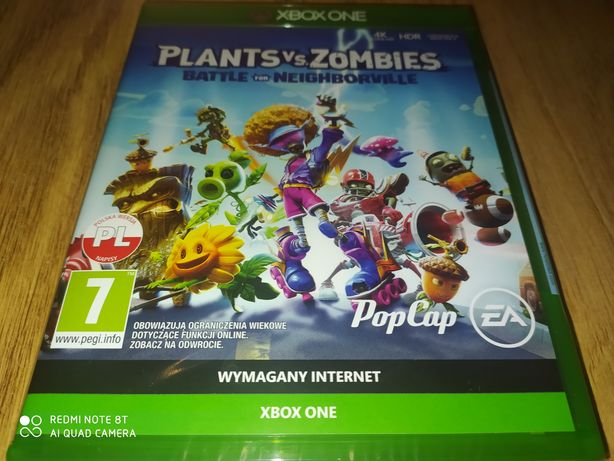 Plants vs zombies bitwa o neighbourville xbox one/series x nowa pl
