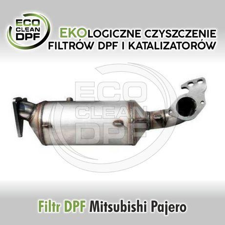 Mitsubishi Pajero - Filtr cząstek stałych DPF, katalizator