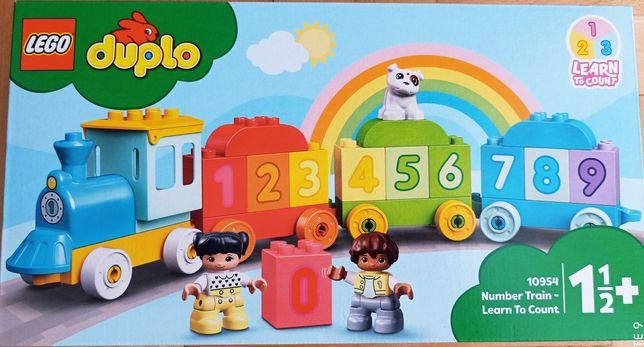 LEGO Duplo pociąg z cyferkami NOWE