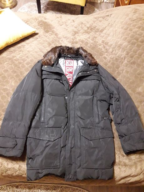 Продам куртку зимнюю Black Vinyl мужскую