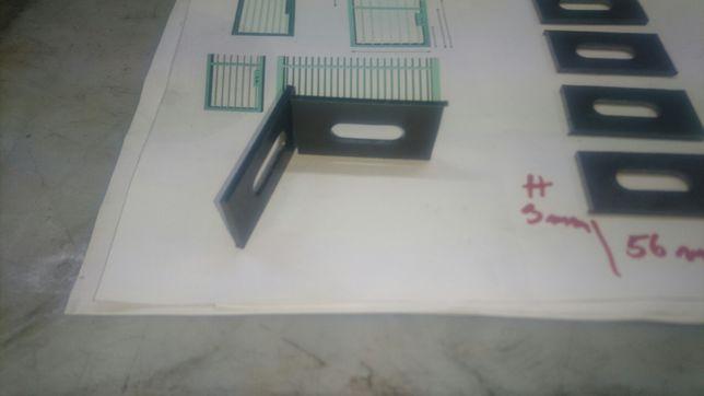 Mocowanie Ucho montażowe przęsła ogrodzenia