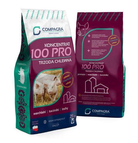 Pasze dla zwierząt Koncentrat trzoda chlewna Plus Compagra 25 kg