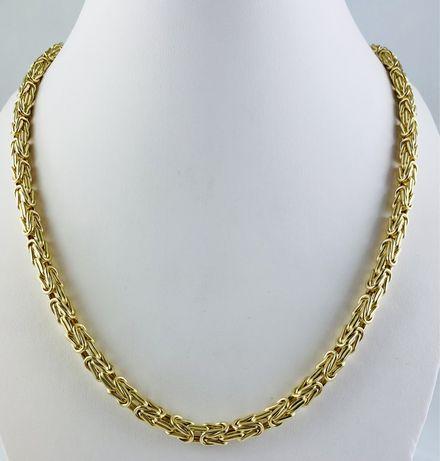 Złoty Męski Łańcuch Splot Królewski 48,5g Pr.585 NOWY !!!