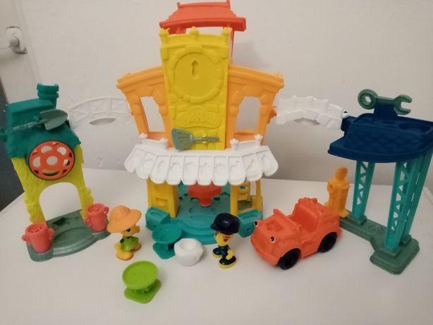 Play-Doh City Town 3w1 + dodatki