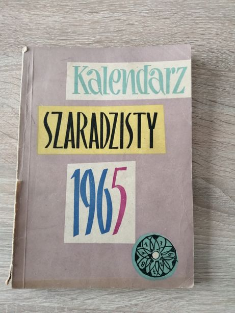 Kalendarz szaradzisty 1965 rok