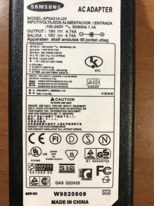 Зарядное устройство для ноутбука Samsung Софиевская Борщаговка - изображение 1