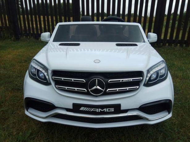 Auto na akumulator Mercedes GLS63 NOWOŚĆ Biały Czarny