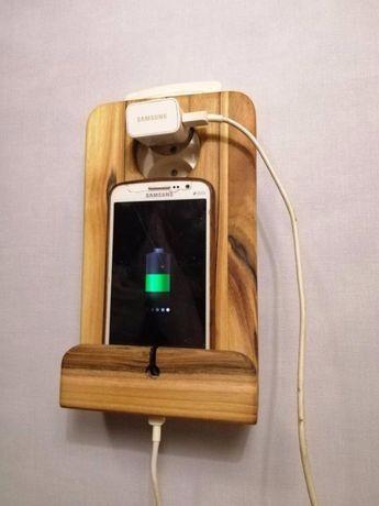 Подставка для зарядки телефона.