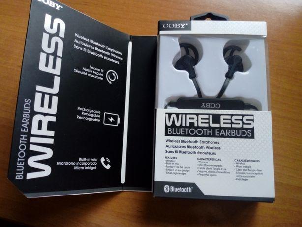 Słuchawki Wireless Bluetooth eardbuds COBY