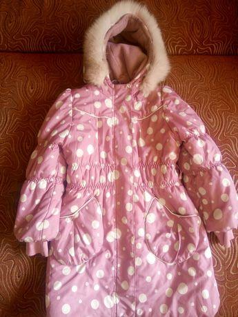 Зимний пуховик, куртка, пальто на 5-6-7 лет