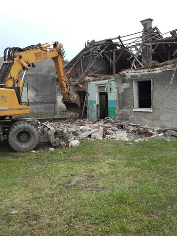 Rozbiórki Wyburzenia Wywóz Gruzu TanioSzybkoSolidnie Myślenice Kraków