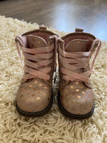 Ботинкочки осенние на девочку, 25 размер, 16 см
