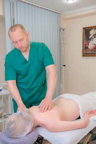 Лечебный массаж спины. Общий массаж в Одессе