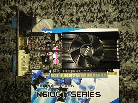 Karta graficzna MSI GT610 1GB DDR3