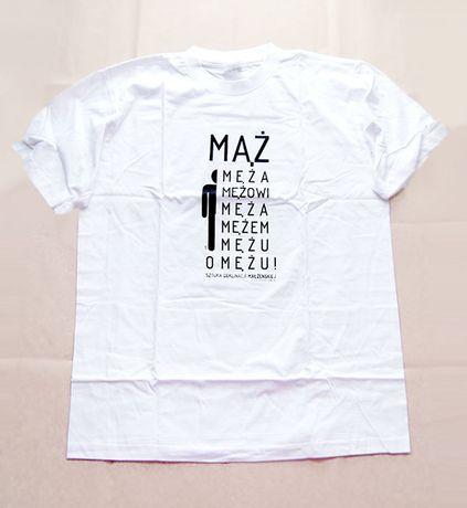 mąż koszulka, koszulka z napisem mąż, smieszna koszulka, fajny t-shirt