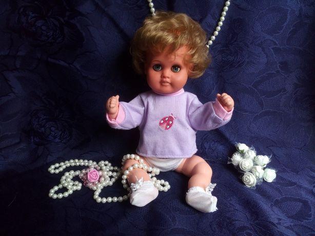 "Кукла Cellba, Германия 50-е, целлулоид клеймо ""Русалка"", 34 см пупс"