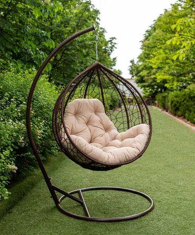 Подвесное кресло Эко Премиум, кресло кокон, крісло кокон