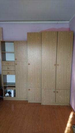 Oddam za darmo meble szafa regał półki szafka szuflady k. jasne drewno