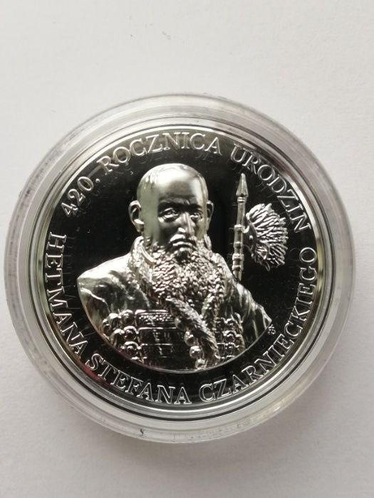10 zł 420 rocznica urodzin Hetmana Stefana Czarnieckiego Łapanów - image 1