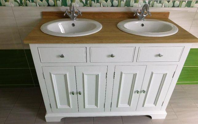 Szafka na umywalki,retro,drewniana,styl angielski