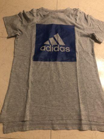 T shirts adidas tam 11/12 em ótimo estado