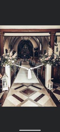 Dekoracje ślubne, weselne, przystrajanie sal, kościołów, bukiety !