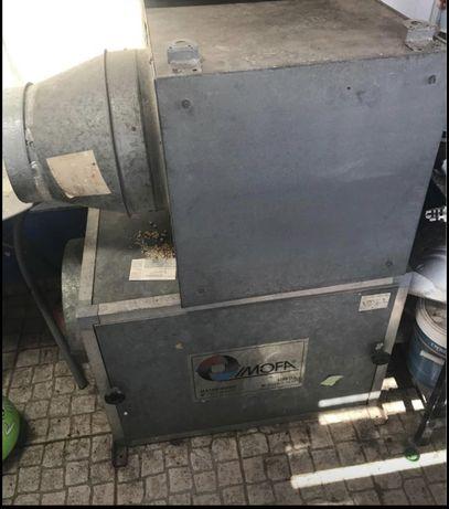 4 Extratores ventilador ar ,fumo ou tintas