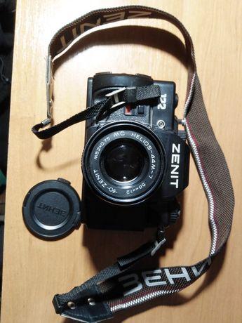 Фотоапарат Zenit 122, спалах та фотоплівка