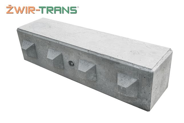 Bloki betonowe, mur oporo, ściany oporowe