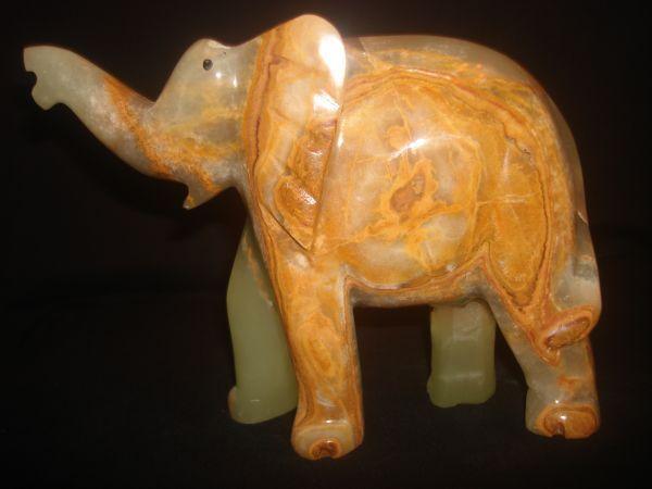 Слоник из оникса...17см**12см..