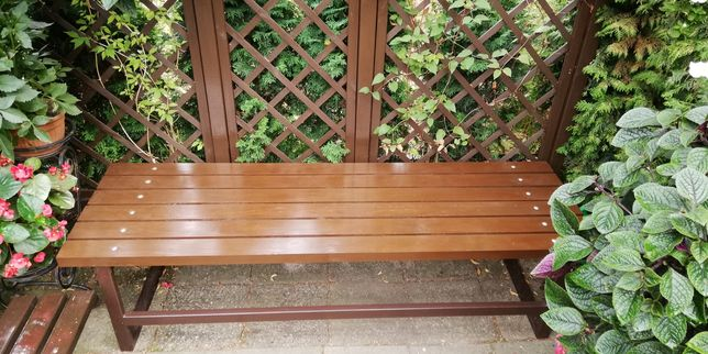 Leżanka/leżak / ława ogrodowa/stół! (wym. 196cm x 61cm x 50cm)