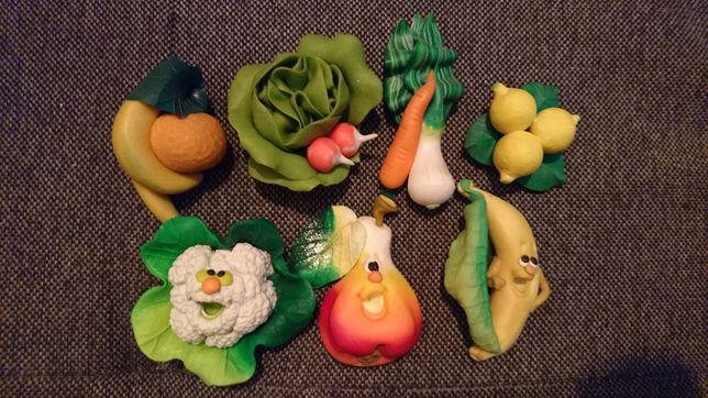 Magnesy warzywa-owoce zestaw