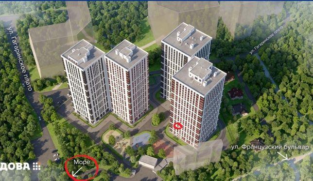 Продам 1к квартиру в ЖК Будова море