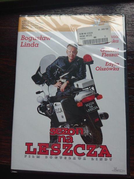 Bogusław Linda w filmie SEZON NA LESZCZA na vcd