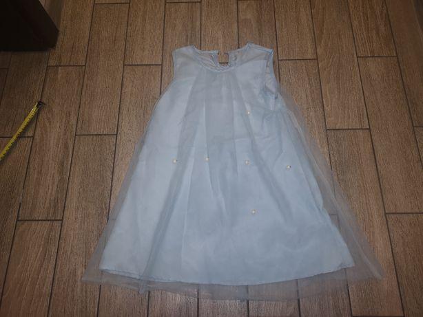Sukienka Elsy Elsa, królowa śniegu roz.3-5 lat