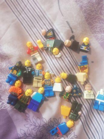 Человечки Лего (аналог) детали, цена за всё, что на фото