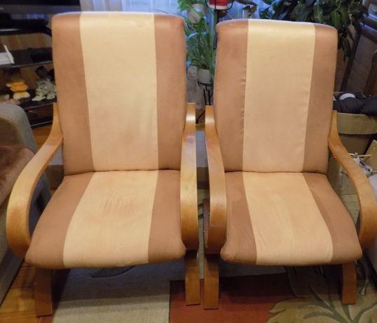 Fotele 2 szt używane