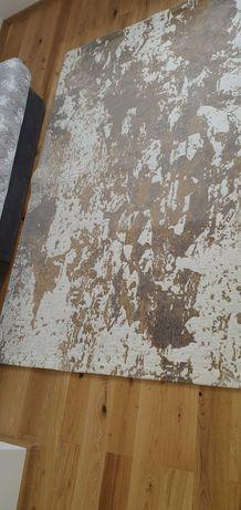 Dywan 160x220 biało-rudy