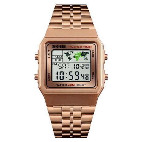 Часы Skmei 1338BOXRG Rose Gold BOX