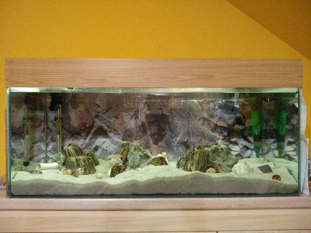 Akwarium 180 l. z pełnym wyposażeniem