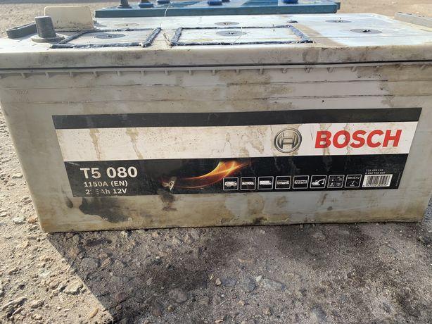 Аккумулятор грузовой 225 Bosch Westa