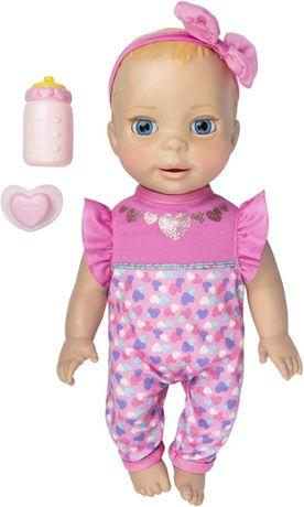 Интерактивная кукла Лувабелла Новорожденная малышка. Luvabella