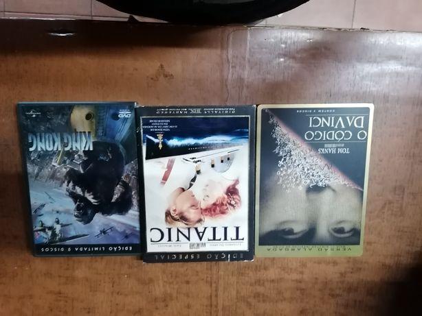 Dvd's Originais ediçoes especiais