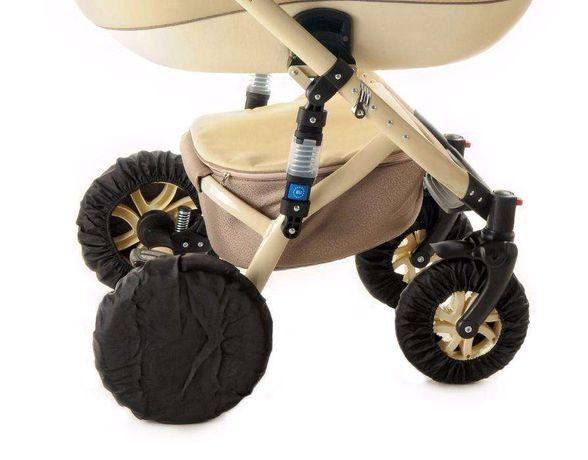 Чехлы защита от грязи на колеса для коляски пр-во Польша на коляску
